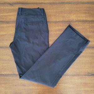 Black nike golf  dri fit long pants